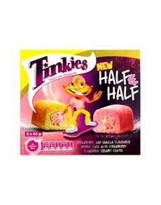 groceries: TINKIES 6S, STRAWBERRY & VANILLA!
