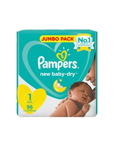 groceries: PAMPERS ACT' BABY JUMBO, NEW BORN 96S!