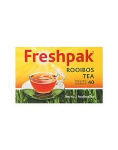 groceries: FRESHPAK ROOIBOS TAGLESS TEABAGS 40S!