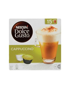 groceries: NESCAFE DOLCE GUSTO 349.5G, CAPPUCCINO!