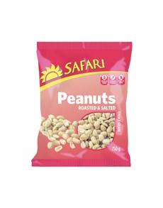 groceries: SAFARI NUTS 750G, ROASTED PEANUTS!