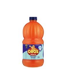 groceries: BROOKES OROS SQUASH 2LT, TROPICAL!