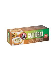 groceries: BAKERS SALTICRAX 200G, BLCKPEPPER!