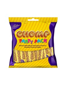 groceries: CADBURY CHOMP PARTY PACK 168G!
