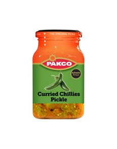 groceries: PAKCO PICKLES,CURRIED CHILLIES 350G!