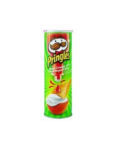 groceries: PRINGLES 110G, SOUR CREAM CHILLI!