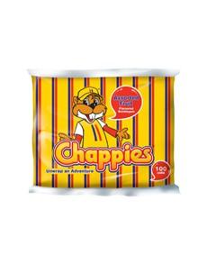 groceries: CHAPPIES BGUM 100S, ASSORTED FRUIT!