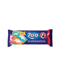 groceries: BAKERS ICED ZOO BISCUITS 150G!