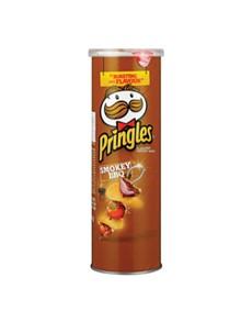 groceries: PRINGLES 110G, SMOKEY BBQ!