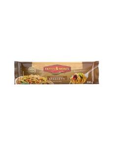 groceries: F&M WHOLEWHEAT HF SPAGHETTI 500G!
