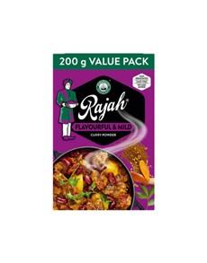 groceries: RAJAH CURRY POWDER 200G, FLAVOURFUL&MILD!