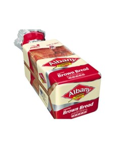 groceries: Albany Superior Brown Sliced Bread 700G!