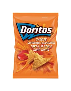 groceries: Doritos Corn Chips 150G, Cheese Sprme!