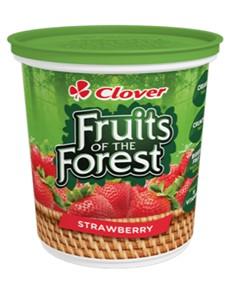 groceries: CLOVER FFOREST FRUIT 1KG, STRAWBERRY!