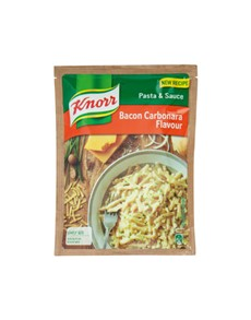 groceries: KNORR PASTA & SCE 128G BACON CARBONARA!