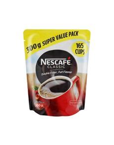 groceries: NESCAFE CLASSIC 300G, DOY!