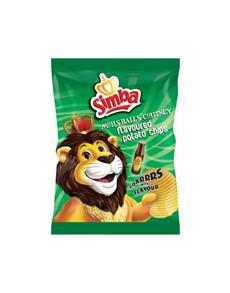 groceries: Simba Chips 125G, Frt Chutney!