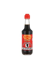 groceries: MAGGI LAZENBY WORCESTER SAUCE 250M, ORGL!