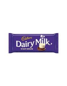 groceries: Cadbury Choc Slabs 150G, Top Deck!