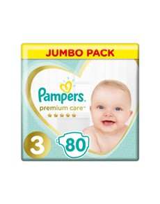 groceries: PAMPERS PREMIUM CARE JUMBO DIAP, MIDI 80!