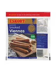groceries: Eskort Smoked Viennas 1Kg!