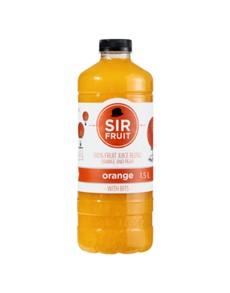 groceries: SIR PULPFRUIT JUICE 1.5LT, ORANGE!