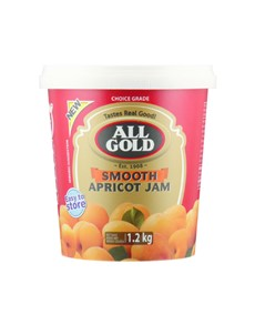 groceries: ALL GOLD JAM 1.2KG, SMOOTH APRICOT!