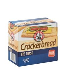 groceries: BAKERS CRACKERBREAD 125G, RYE!