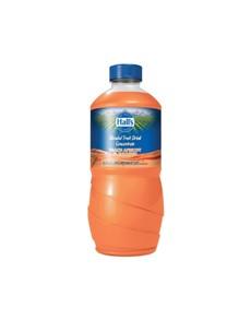 groceries: HALLS FRUIT DRINK 1.25LT, PEACHAPRICOT!