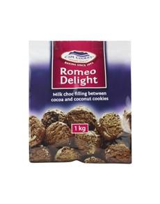 groceries: CAPE COOKIES 1KG, ROMEO DELIGHT!