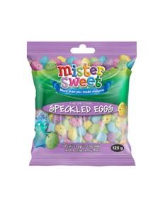 groceries: MR SWEET SPECKLED EGGS  125G!
