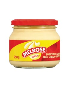 groceries: MELROSE CHEESE SPREAD 250G, SWTMILK!