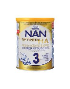 groceries: NESTLE NAN  HA 800G, 3!