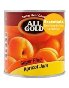 groceries: All Gold Smooth Apricot Jam 900G!