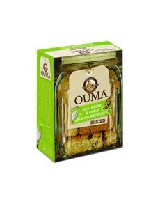 groceries: OUMA RUSKS SLICED 450G,OAT,RAISIN&APPLE!