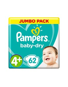 groceries: PAMPERS ACTV JUMBO PACK MAXI PLUS 62S!