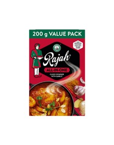 groceries: RAJAH CURRY POWDER 200G, ALL IN ONE!