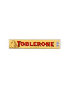 groceries: TOBLERONE CLATE SLAB 100G, MILK!