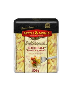 groceries: FATTIS & MONIS BELLISSIMO 500G MACARONI!