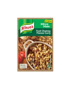 groceries: KNORR MINCE MATE 230G FRT CHUTNEY CURRY!