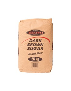 groceries: ILLOVO DARK  BROWN SUGAR 25KG!