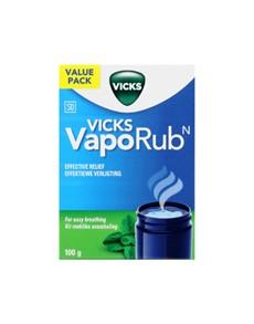groceries: VICKS VAPORUB JAR 100G!