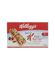 groceries: KELLOGGS SPECIAL K BAR 5X25G RBERRIES!