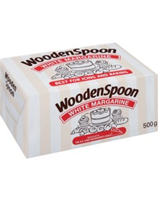 groceries: WOODENSPOON WHT MARGARINE 500G!