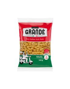 groceries: PASTA GRANDE SHELLS 500G!
