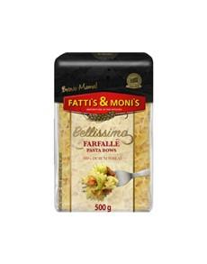 groceries: FATTIS & MONIS BELLISSIMO 500G FARFALLE!