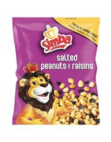 groceries: SIMBA PEANUTS & RAISINS 150G!