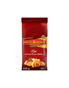 groceries: FATTIS & MONIS PASTA CURVED SHELLS 500G!