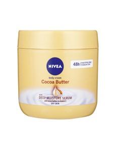 groceries: NIVEA BODY CREAM 400ML, COCOA BUTTER!