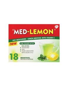 groceries: MEDLEMON SACHETS 18S, LEMON MENTHOL!